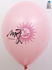 Ballons-publicitaires-MRJ-Chaussures-fuchsia