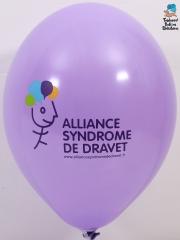 Ballons-publicitaires-syndrome-de-Dravet-violet