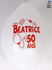 Ballons-personnalisés-50-ans-Béatrice-blanc
