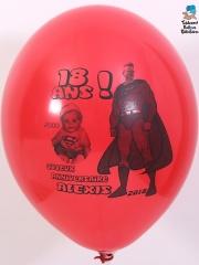 Ballons-personnalises-18-ans-Alexis-rouge
