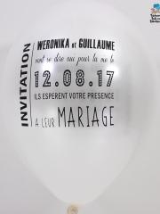 Ballons-personnalises-mariage-Weronika-et-Guillaume-face-francais