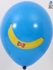 Ballons-publicitaires-Banane-Martinique-et-Guadeloupe-Bleu-moyen-face-1