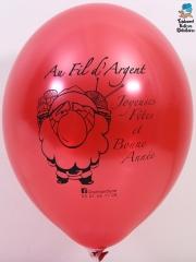 Ballons-publicitaires-Au-fil-d'argent-rouge-metal