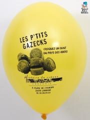 Ballons-publicitaires-Les-P'tits-Gazecks-Jaune