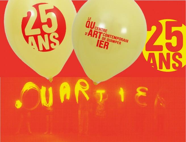Ballons publicitaires 25 ans Le Quartier