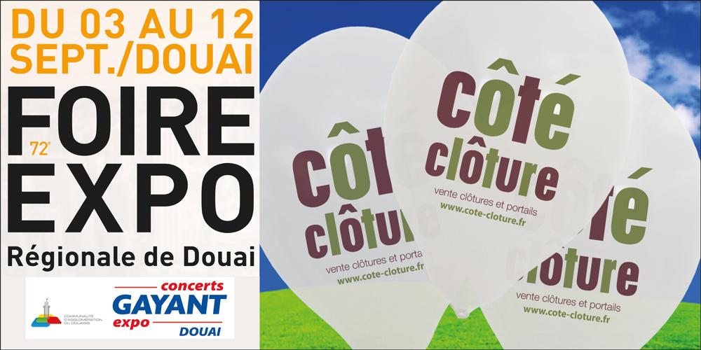 Ballon-publicitaires-côté-cloture-a-Gayant-Expo