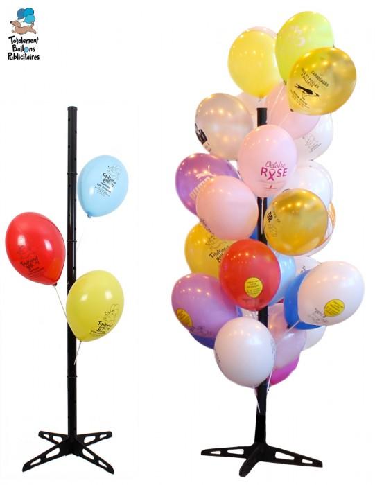Arbre à ballons publicitaires plastique