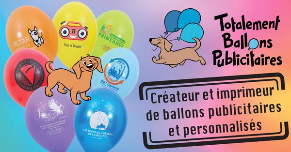 Créateur et imprimeur de ballons publicitaires